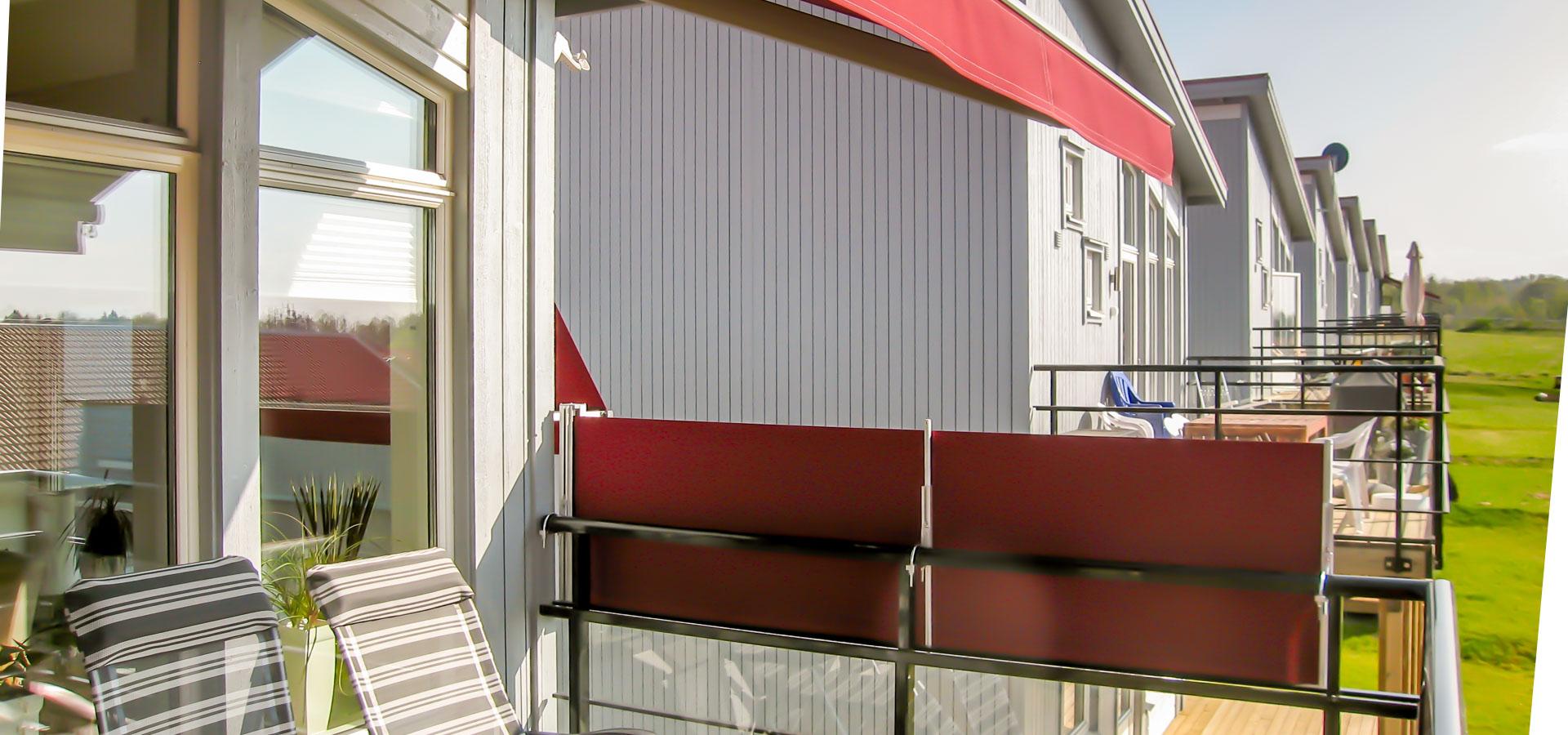 Balkongskydd, vindsksydd